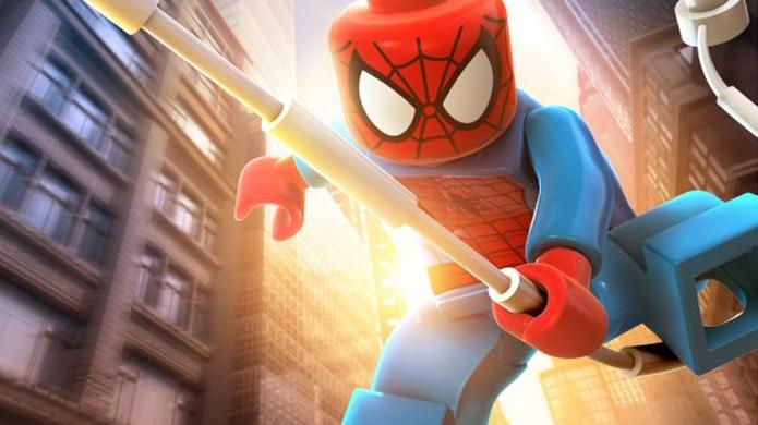 Homem-Aranha é um dos heróis mais recorrentes em LEGO Marvel Super Heroes (Foto: ene3.pt)