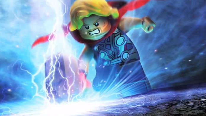 Eventualmente a batalha sai da terra e vai parar em Asgard com Thor (Foto: dlcentral.com)