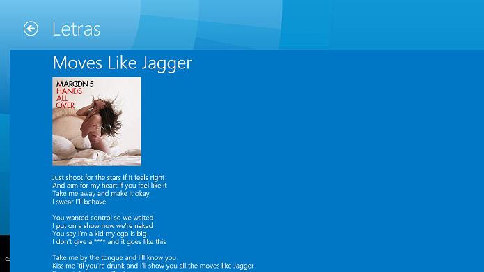 Shazam identifica letras de algumas faixas (Foto: Thiago Barros/TechTudo)