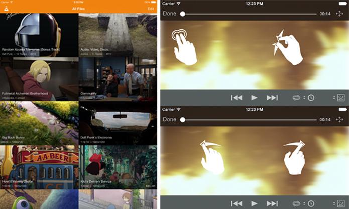 VLC para iOS agora tem novo visual e suporte a gestos (Foto: Divulgação/VideoLAN)