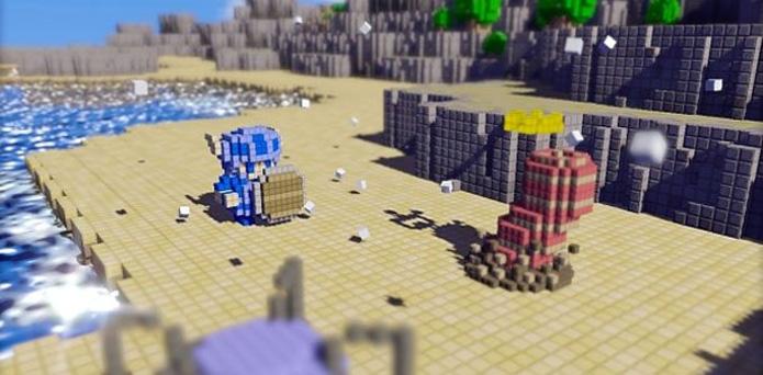 3D Dot Game Heroes (Foto: Divulgação)
