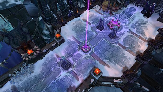 Fique atento ao mapa de Aram em League of Legends (Foto: Divulgação)