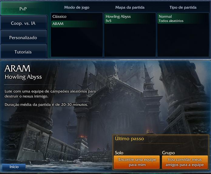 Aram tem regras próprias em League of Legends (Foto: Reprodução/Felipe Vinha)