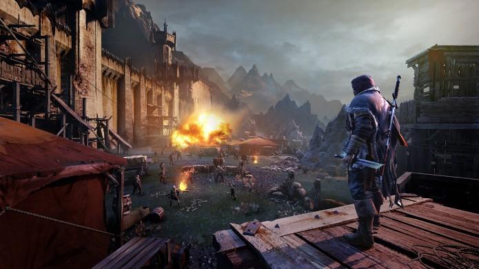 Middle-Earth: Shadow of Mordor ganhou o primeiro vídeo mostrando sua jogabilidade. (Foto: Divulgação)