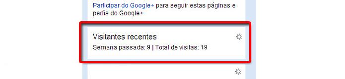 As visitas ao perfil podem ser monitoradas, algo que o Facebook nunca pensou em implantar (Foto: Reprodução/Orkut)