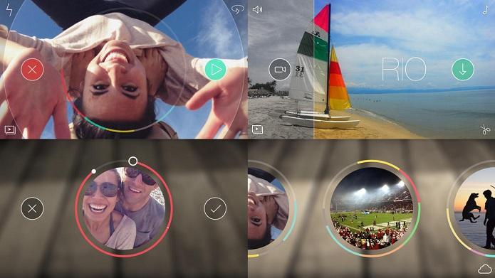 Crie e compartilhe seus vídeos de um jeito simples com o Spark Camera (Foto: Divulgação)