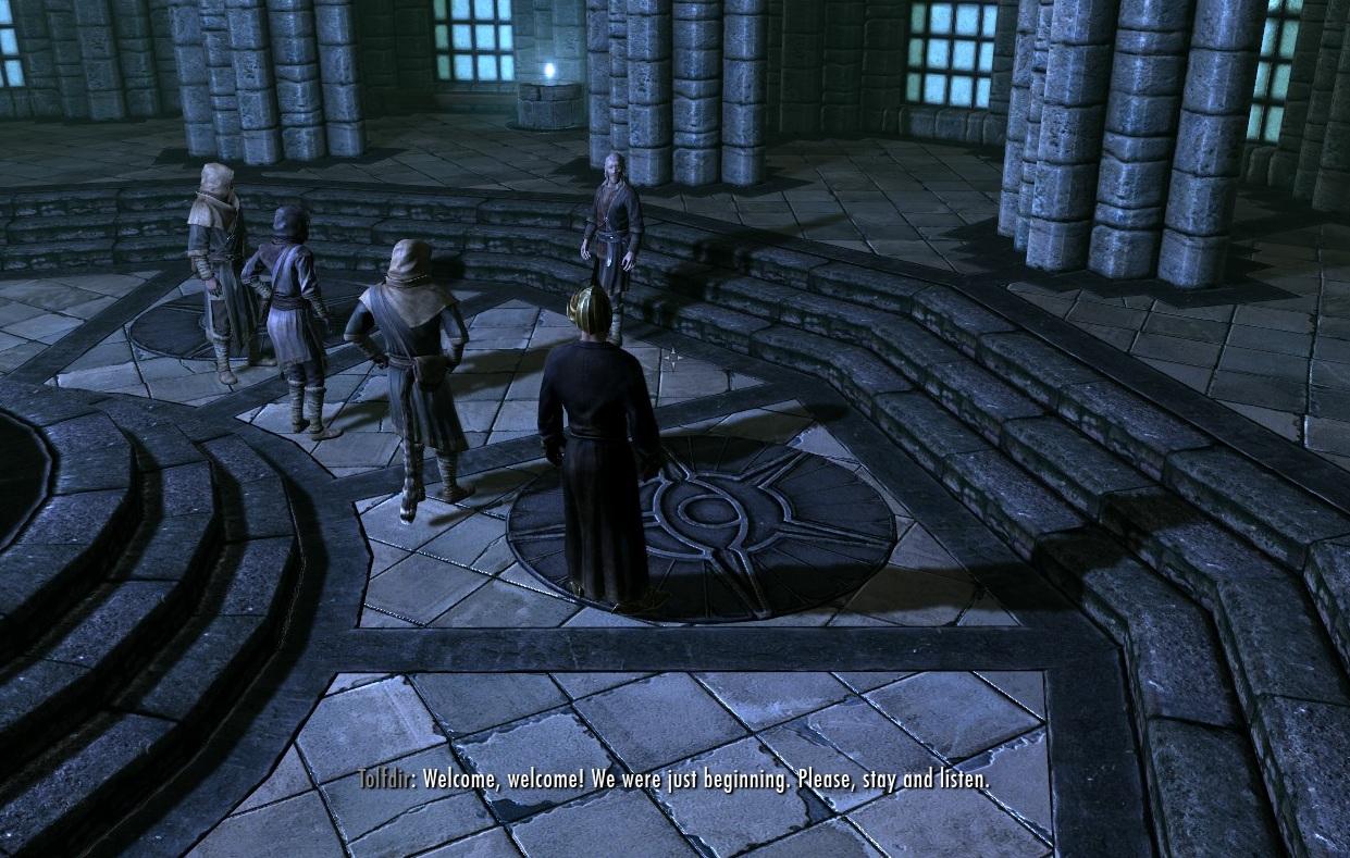 O Professor Tolfdir ensinará a você a magia de Ward (Foto: Reprodução/Paulo Vasconcellos)