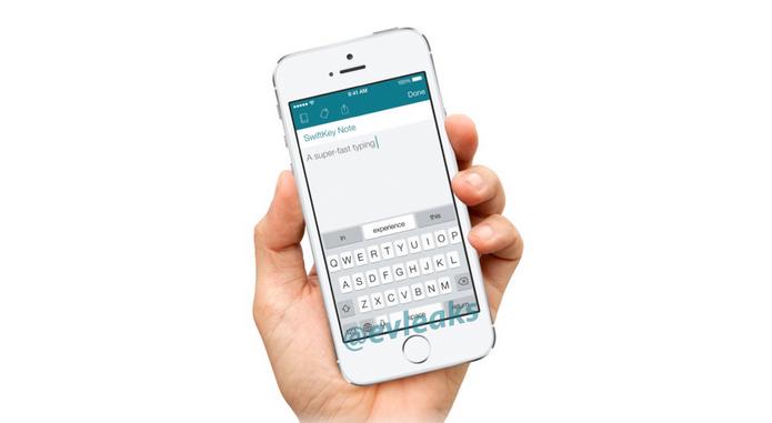 Teclado mais famoso no Android, Swiftkey deve desembarcar no iOS (Foto: Reprodução/Evleaks)