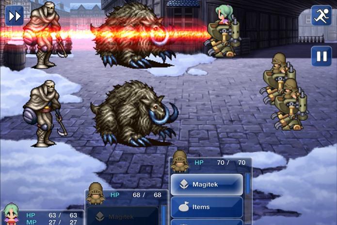 Luta entre magia e tecnologia marca um dos melhores Final Fantasy de todos os tempos (Foto: Divulgação)