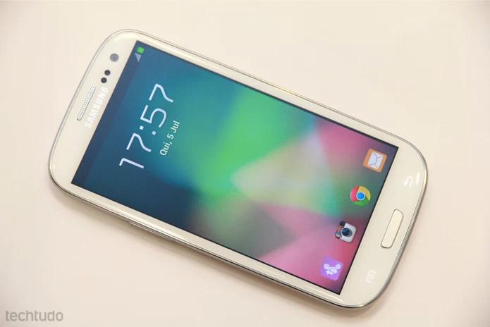Galaxy S3 é alvo de muitos piratas (Foto: TechTudo/Allan Melo)
