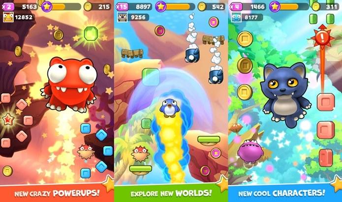 Mega Jump 2, uma explosão de cores na sua tela (Foto: Divulgação)