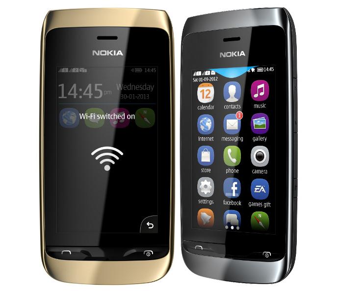 Nokia Asha 310 vem equipado com sistema S40 e conectividade Wi-Fi (Foto: Divulgação/Nokia)