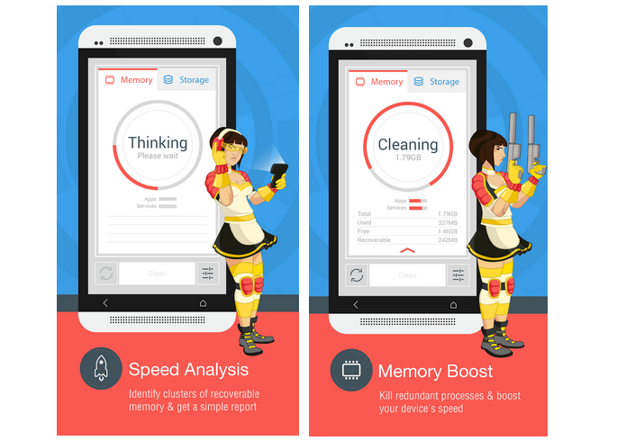 The Cleaner é um app para otimizar e limpar o Android (Foto: Divulgação)