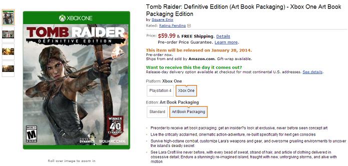 Game tem preço de lançamento (Foto: Reprodução/Amazon)