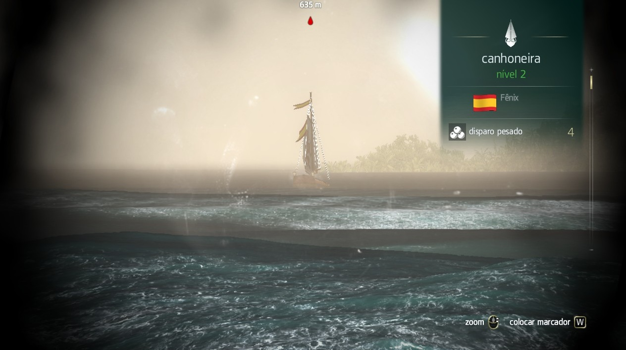 Analise a Carga de Navios Inimigos antes de atirar (Foto: Reprodução/Paulo Vasconcellos)