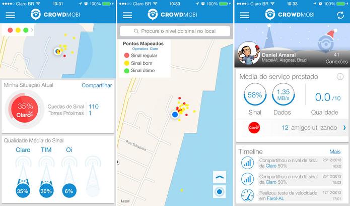 Crowdmobi é um programa bem útil para Android e iOS (Foto: Divulgação/Crowdmobi)