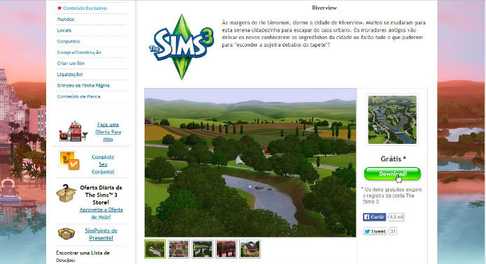 The Sims 3: Adicione Mundos ao seu jogo