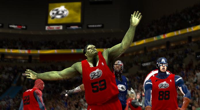 Hulk é um dos astros do mod (Foto: Divulgação)