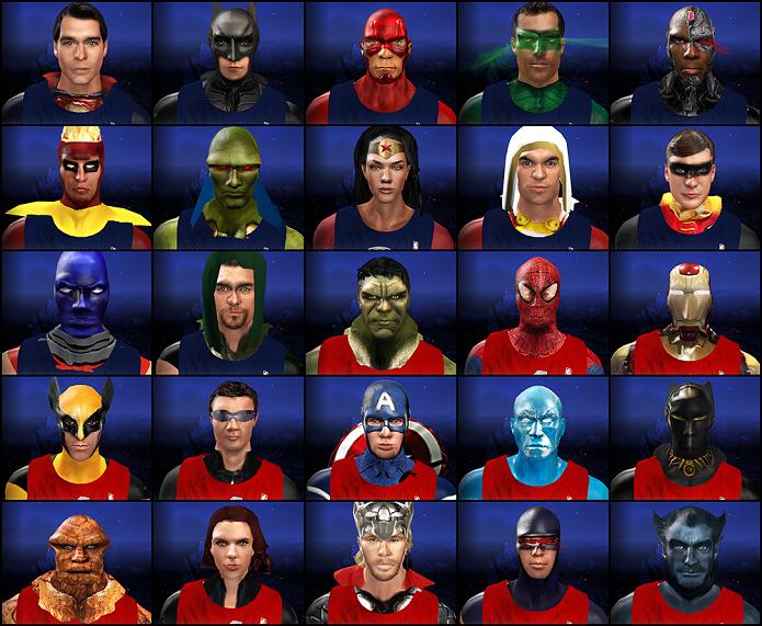 Estes são os personagens do mod (Foto: Divulgação)