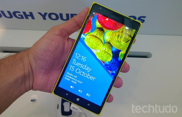 Novo Lumia pode aparecer na MWC (Foto: Allan Melo/TechTudo)