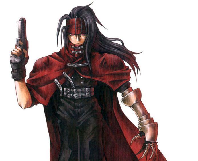 Thiago também é fã do personagem Vicent, o Turk agente de elite da Shinra, do jogo Final Fantasy VII (Foto: Divulgação)