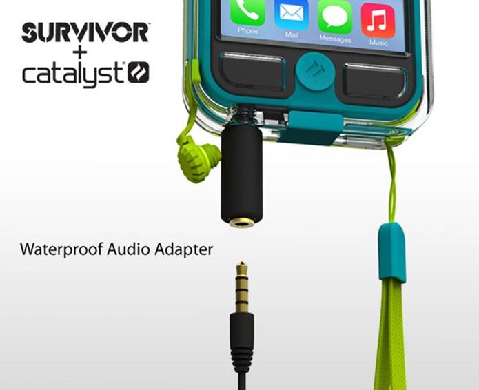 Case para iPhone 5 da linha Survivor + Catalyst (Foto: Divulgação/Catalyst Waterproof)
