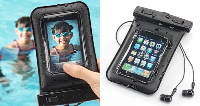 Case à prova dágua compatível com vários aparelhos (Foto: Reprodução)