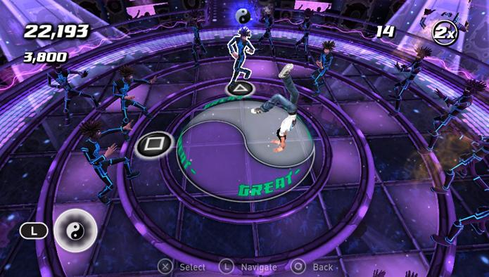 Inimigos azuis atacam em sequência como duplas ou trios (Foto: Reprodução)