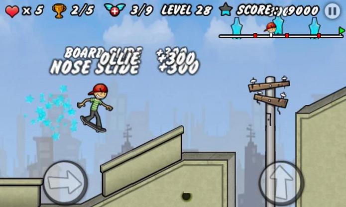 Skater Boy é mais cartunesco (Foto: Divulgação/Runner Games)