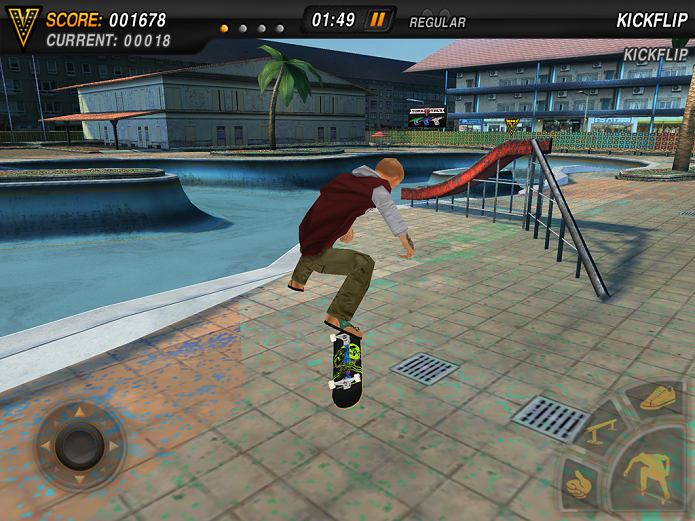 Mike V: Skateboard Party tem manobras insanas (Foto: Divulgação/Ratrod Studio)