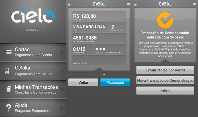 Receba pagamentos com cartão no seu gadget com o Cielo Mobile  (Foto: Divulgação)