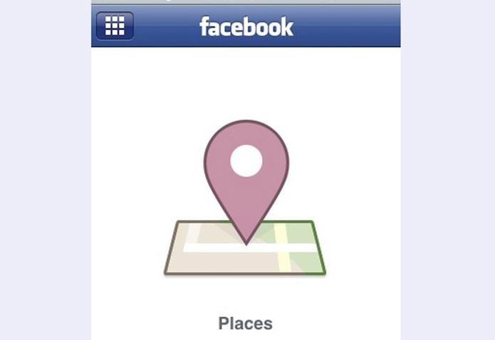 Places foi a tentativa do Facebook de concorrer com o Foursquare (foto: Reprodução/Mashable)