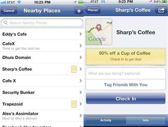 Deals permitia que usuários fizessem compras coletivas (foto: Reprodução/Mashable)