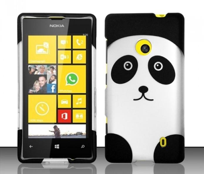 Capa para Nokia Lumia 520 com estampa de panda (Foto: Divulgação/Cell Cases USA)