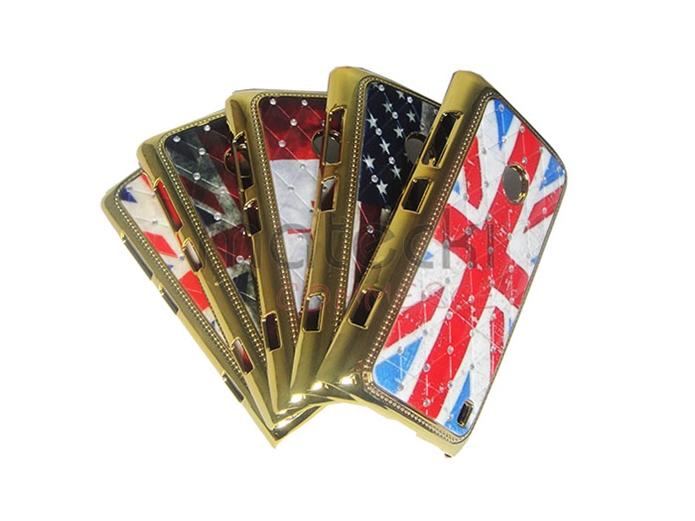 Capas com bandeiras do Canadá, Estados Unidos e Inglaterra (Foto: Divulgação/matecki)