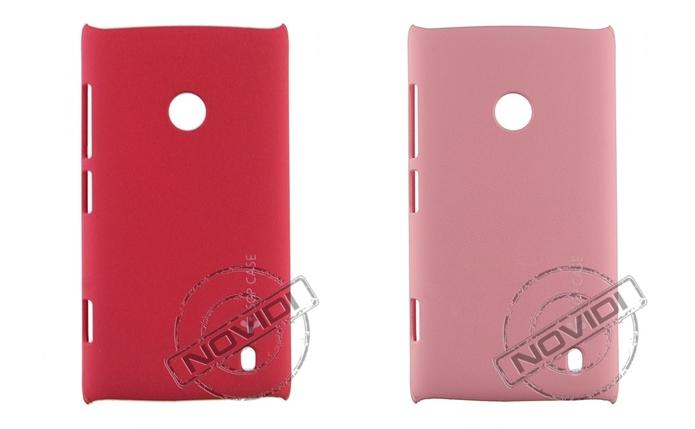 Cases de acrílico coloridas para Nokia Lumia 520 (Foto: Divulgação/Novidi)