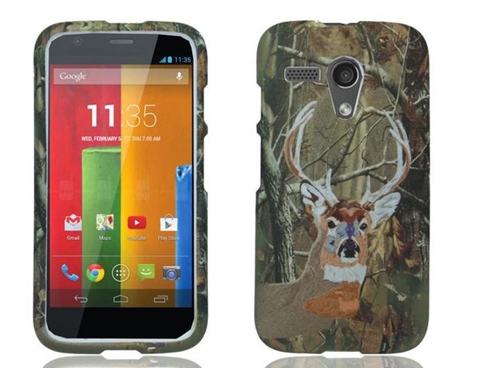 Capa com ilustração de cervo para Motorola Moto G (Foto: Divulgação/Cell Cases USA)