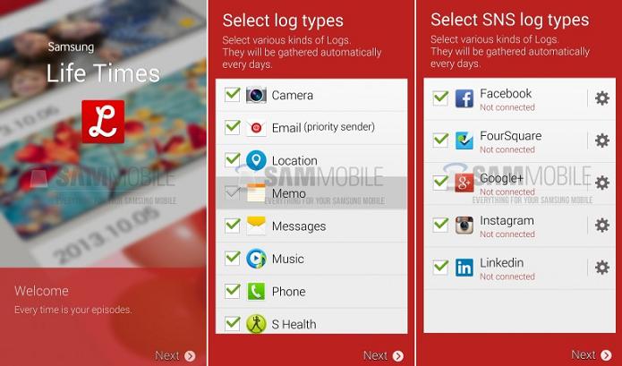 Aplicativo da Samsung pode chegar no novo S5 (Foto: Reprodução/Sam Mobile)