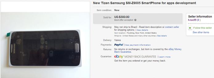 Telefone apareceu no eBay (Foto: Reprodução/eBay)