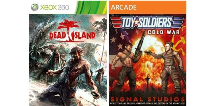 Dead Island e Toy Soldier são os jogos de fevereiro do Games With Gold. (Foto: Reprodução/Major Nelson)