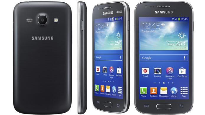 Lançado em 2013, o Galaxy Ace 3 é o modelo mais avançado de sua série e custa em torno de R$ 700 (Foto: Divulgação/Samsung)