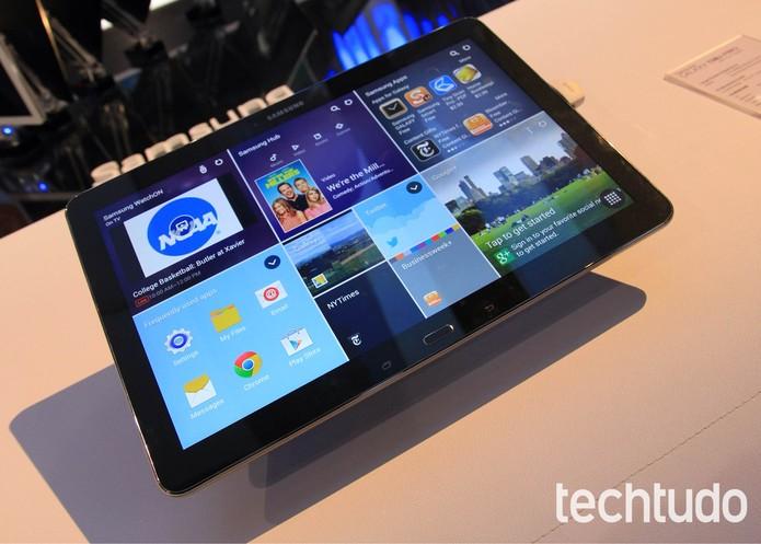 Interface Magazine UX, apresentada no Galaxy Note Pro, pode acabar (Foto: Isadora Díaz/TechTudo)