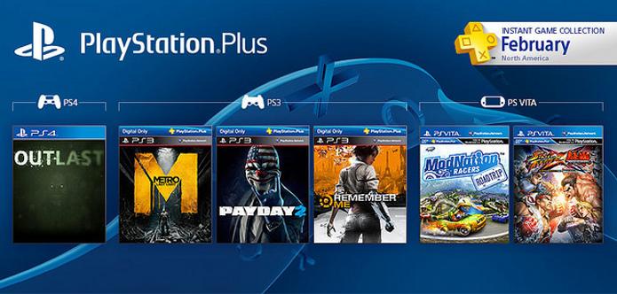Metro: Last Light e Payday 2 estão entre os games gratuitos de fevereiro. (Foto: Reprodução/Playstation Blog)