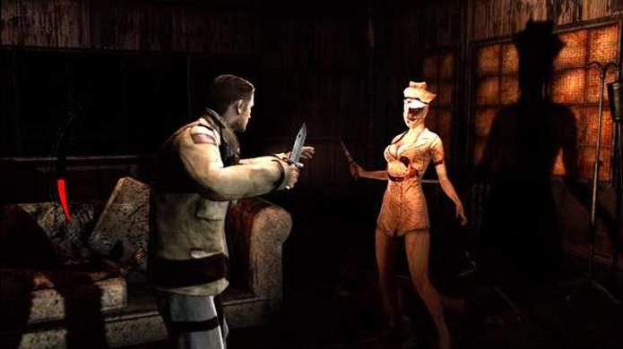 Um soldado em Silent Hill acabou não combinando com o clima do jogo (Foto: taringa.net)