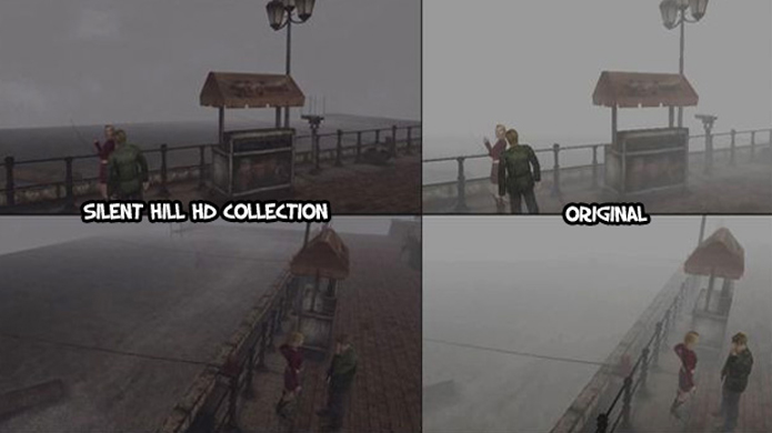 Silent Hill HD Collection acabou ficando diferente demais do original (Foto: destructoid.com)
