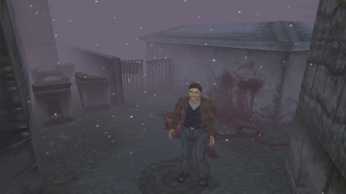 Rastros de sangue eram uma das formas de medo indireto no Silent Hill original (Foto: ebay.com)