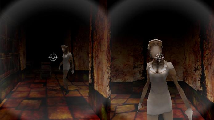 The Escape traz um labirinto cheio de enfermeiras e pouca munição (Foto: mobygames.com e appadvice.com)