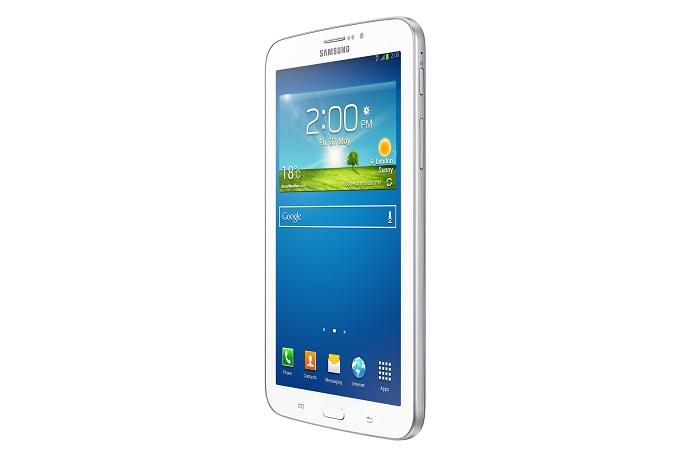 O Galaxy Tab 3 vem com uma câmera frontal de 3MB e traseira de 1.3 MP (Reprodução/ Samsung)