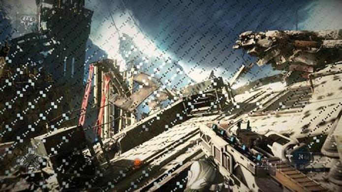 Poluição visual ocupa toda a tela em Killzone: Shadow Fall (Foto: GamingBolt)