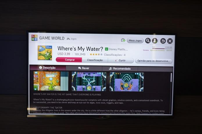 Download pode ser feito no botão rosa na parte superior (Foto: Thiago Barros/TechTudo)